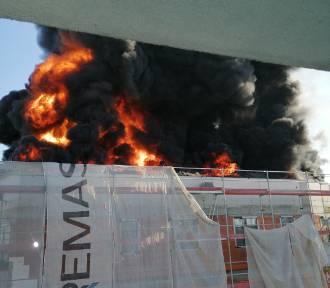 Kłęby czarnego dymu nad Krakowem. Znamy przyczynę pożaru!