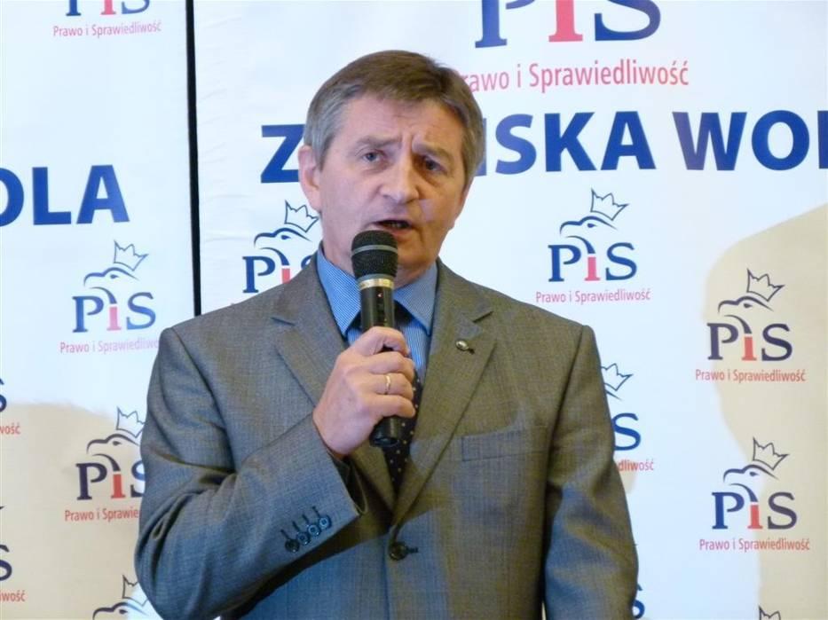 Marek Kuchciński rozmawiał ze zduńskowolanami