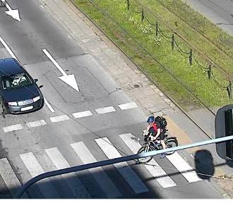 Posypały się mandaty dla rowerzystów