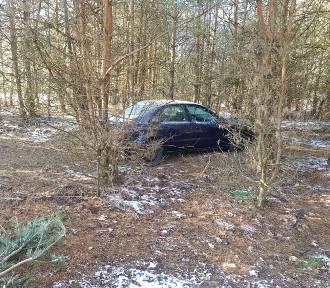 Kierowca poszedł pobiegać w lesie. Gdy wrócił, auta już nie było