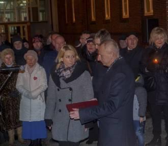 Inowrocławianie uczcili pamięć Pawła Adamowicza [zdjęcia]