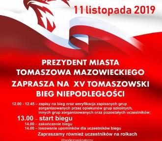 XV Tomaszowski Bieg Niepodległości. Ruszyło przyjmowanie zgłoszeń FOTO