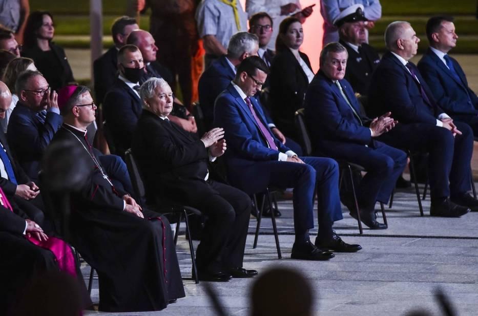 Toruń: Park Pamięci u o. Tadeusza Rydzyka otwarty! Obecni m.in. premier Mateusz Morawiecki i Jarosław Kaczyński ZDJĘCIA [09.08.2020]