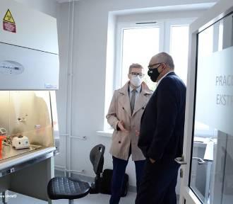 Laboratorium w Bolesławcu już działa. Wykonuje 400 testów dziennie [ZDJĘCIA]