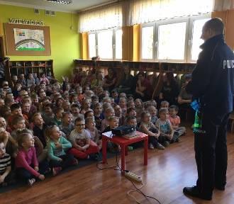 Dzień Bezpiecznego Internetu w przedszkolu nr 5 Świebodzinie. Policjanci mówili o niebezpieczeństwach