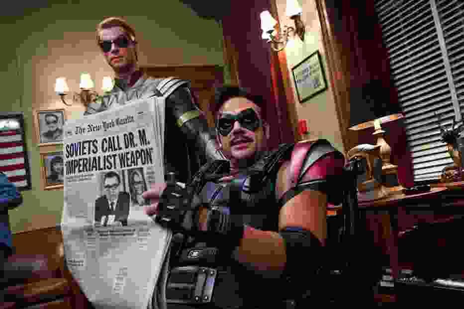 """Strażnicy"", USA,  2009, reż. Zack Snyder"