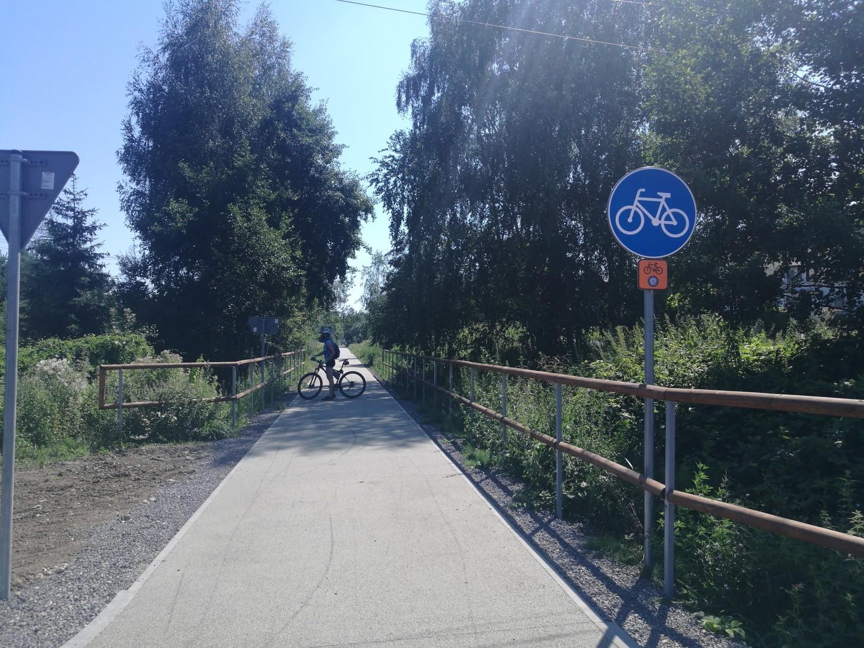 Żelazny Szlak Rowerowy w Jastrzębiu oblężony!
