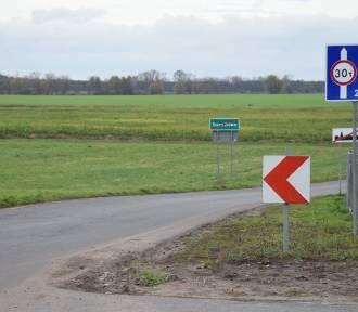 Powiat kościański dostał pieniądze na drogę w Szczodrowie [FOTO]
