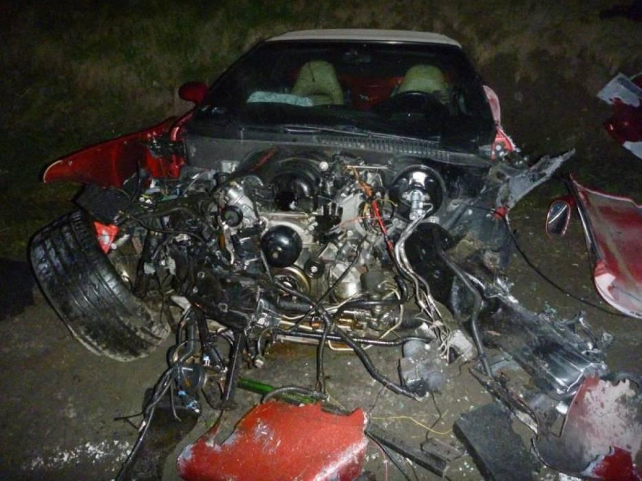 Wypadek w Biedrusku