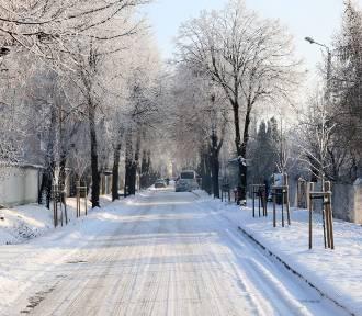 Ależ to była zima! Przypominamy śnieżne krajobrazy w Wieluniu GALERIA ZDJĘĆ