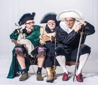 Trzej emerytowani muszkieterowie będą rozśmieszać w Gdyni