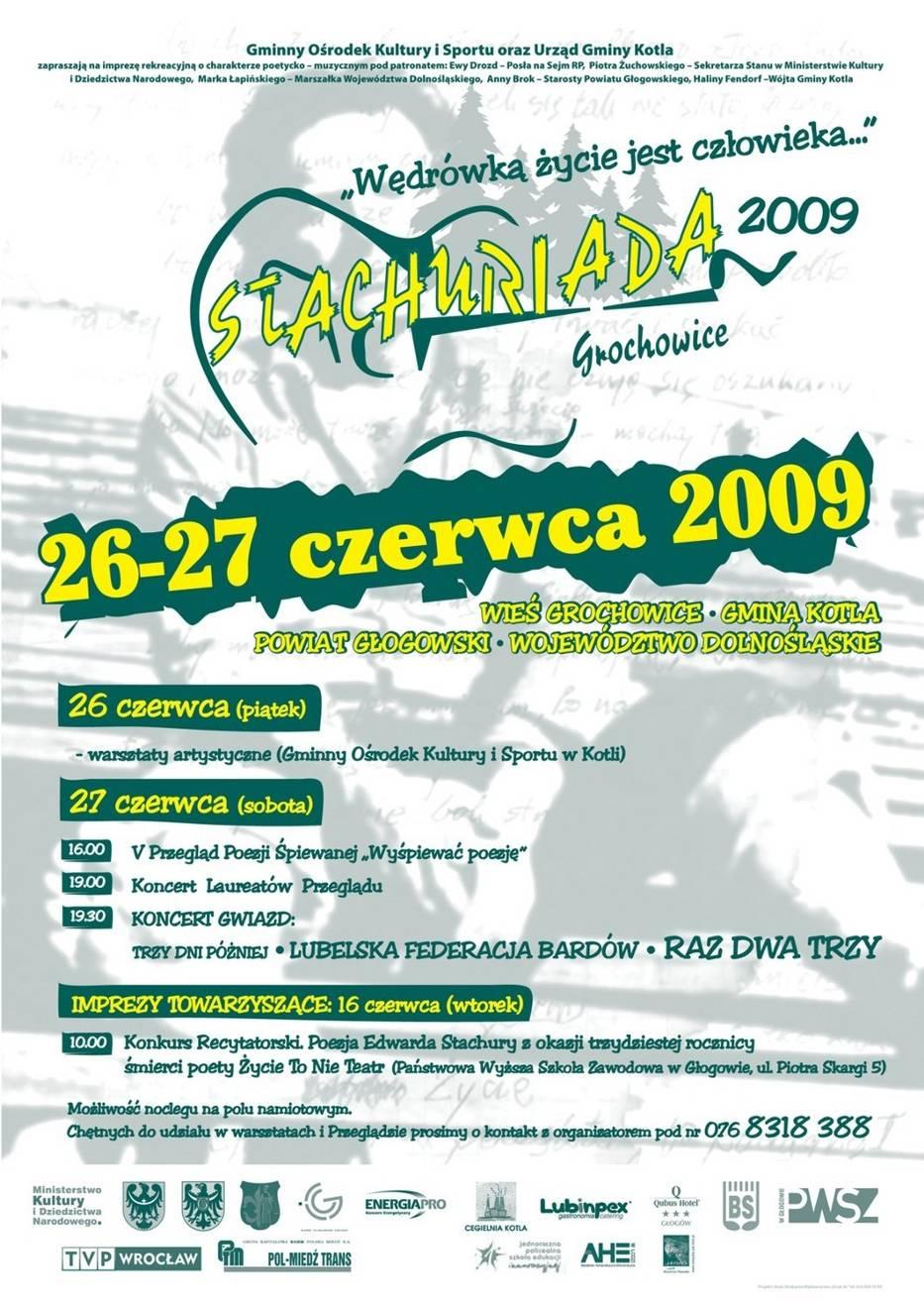 Plakat Stachuriady 2009