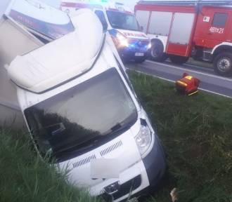 Stare Pole. Wypadek na drodze krajowej nr 22 z udziałem trzech samochodów [ZDJĘCIA]