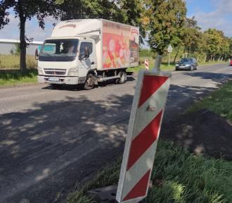 Trwa remont ulicy Krakowskie Przedmieście w Piotrkowie, ale nic się nie dzieje...