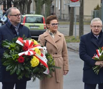 Uczczono 76. rocznicę egzekucji Kazimierza Kałużewskiego i Juliusza Sylli w Karsznicach [zdjęcia]