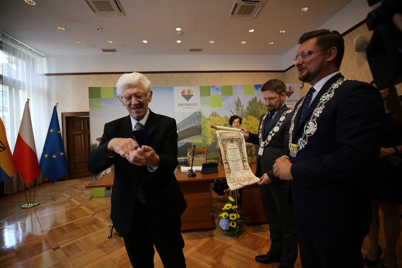 W środę, 11 września, w Pałacu Goldsteinów w Katowicach odbyła się uroczysta sesja Rady Miasta