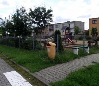 Plac zabaw na osiedlu Kawczyńskich w Zbąszyniu