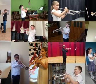 132 uczestników grało hejnał w konkursie Mały Trębacz w Trąbkach Wielkich LAUREACI I WYRÓŻNIENI]