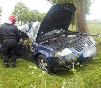 Tragiczny weekend na drogach powiatu międzyrzeckiego [ZDJĘCIA]