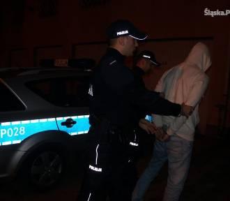 Policja Będzin: wystraszył się policji, chciał połknąć marihuanę