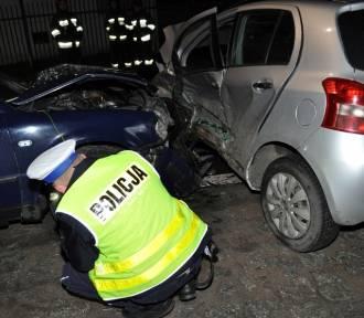 Pruszcz Gdański: Wypadek na dw 222. Cztery osoby w szpitalu [ZDJĘCIA]