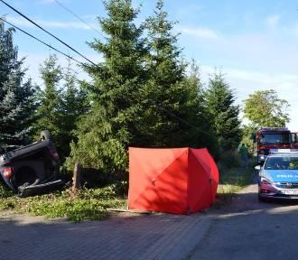 Śmiertelny wypadek w Czarnówku. Nie żyje kobieta