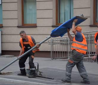 Rusza remont ul. Wybickiego w Grudziądzu. Zmiany w ruchu samochodów i tramwajów [rozkład jazdy