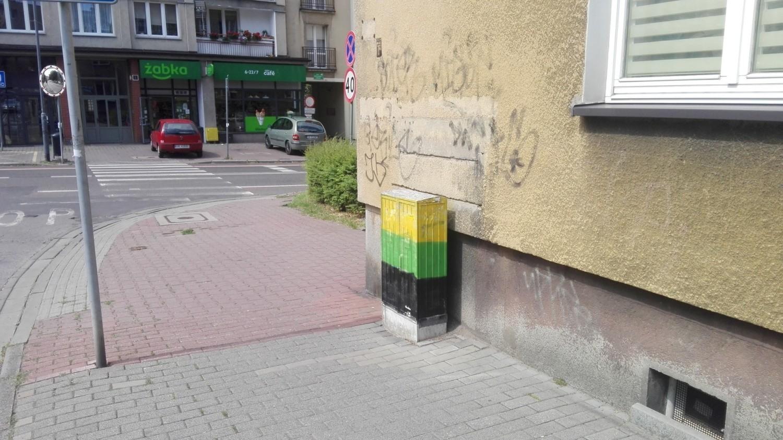 Katowice, róg Adamskiego i Kominka