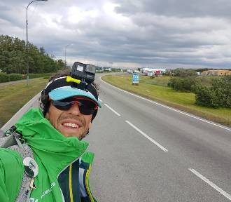 Gdynianin przebiegł z plecakiem Islandię. Pobił dwa rekordy!