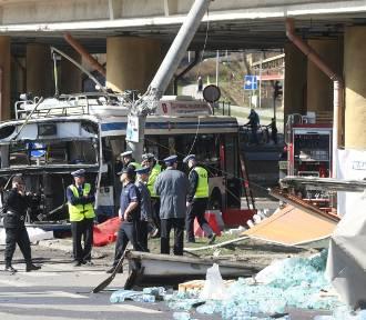 Flesz z przeszłości. Ciężarówka staranowała trolejbus. Zginęły dwie osoby