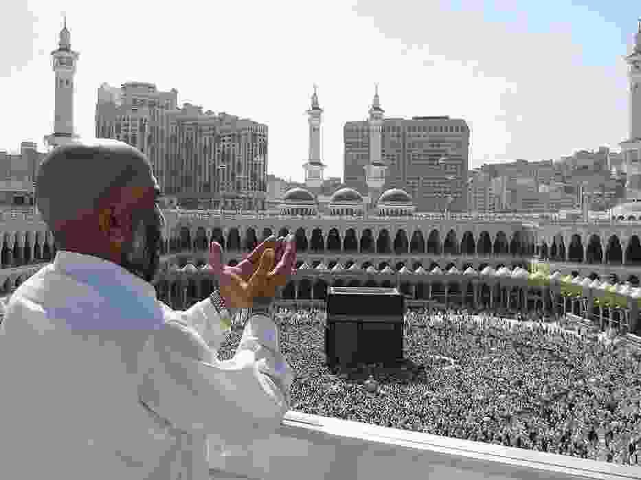 Modlitwa w Mekce