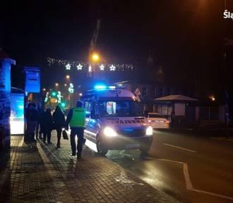 Wypadek w Piekarach Śląskich. Na ul. Bednorza samochód potrącił kobietę