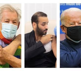 Politycy, aktorzy i celebryci. Oni już się zaszczepili na COVID-19