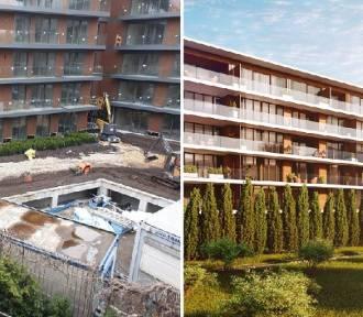 Budowa apartamentowca przy Stradomskiej: Mieszkańcy pytają, gdzie są drzewa?