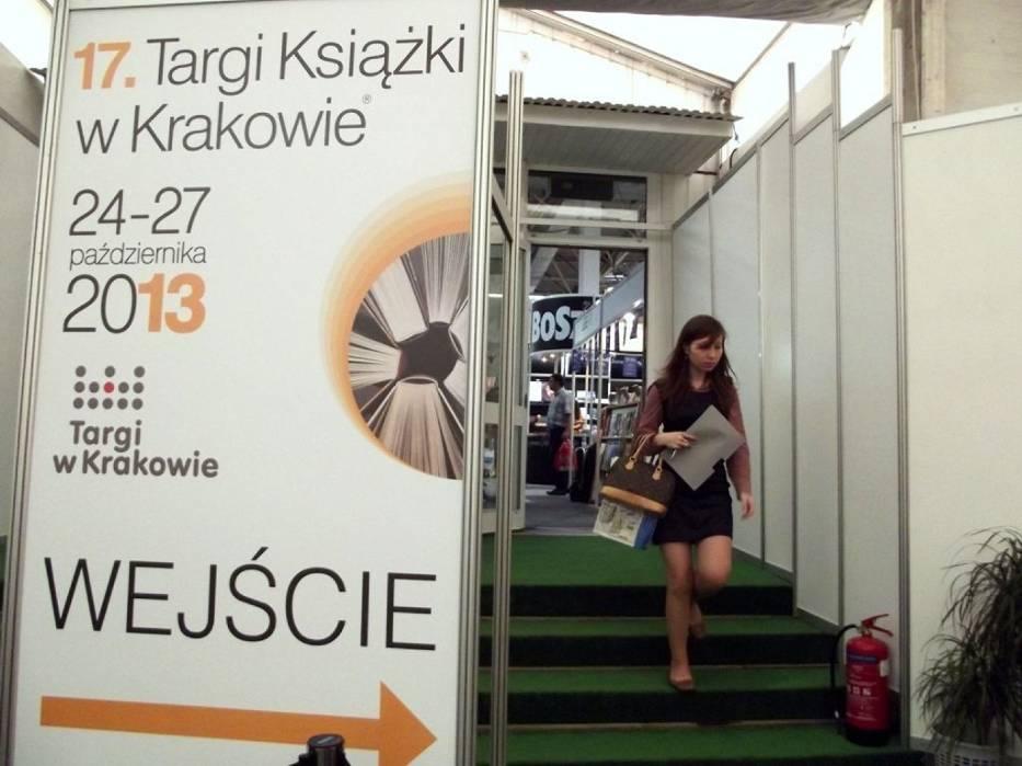 Targi Książki w Krakowie potrwają do najbliższej niedzieli, 27 października