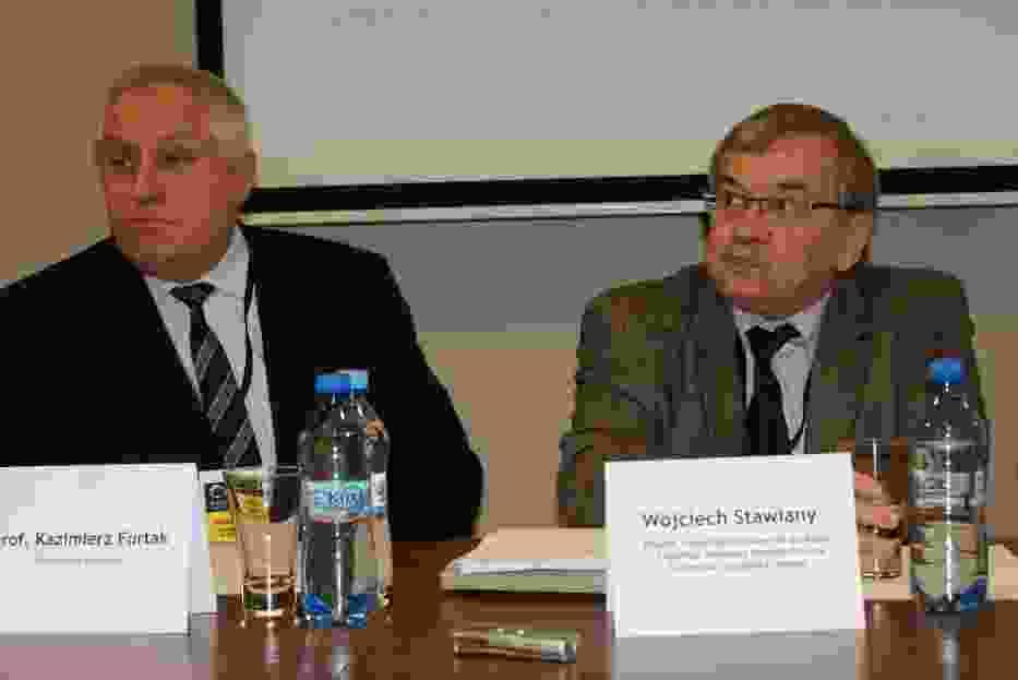 Pan Furtak Rektor Politechniki Krakowskiej i Pan Wojciech Stawiany