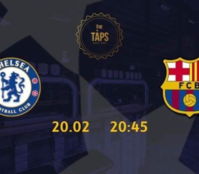 c1030e944 Liga Mstrzów Chelsea FC - FC Barcelona The Taps Warszawa - NaszeMiasto.pl