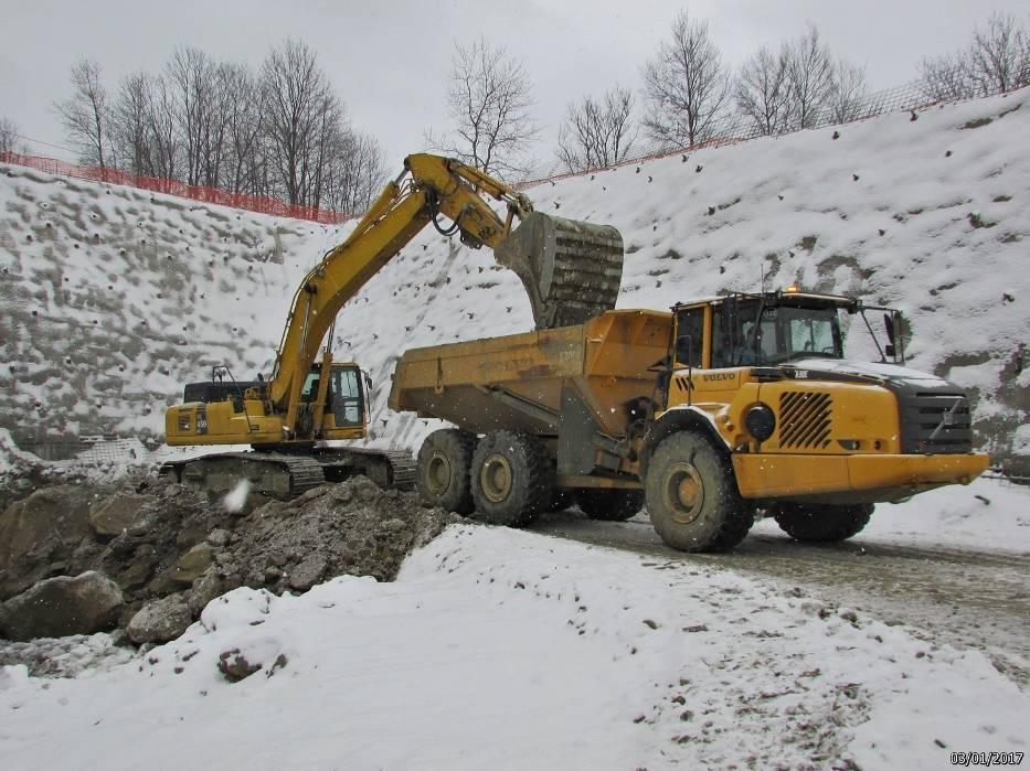 Budowa nowych odcinków zakopianki trwa