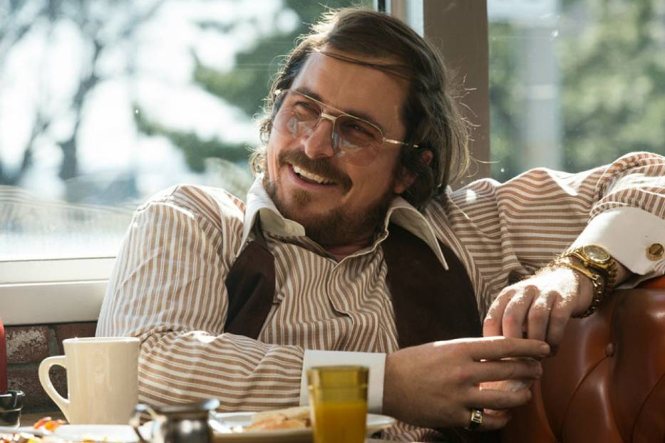 "Christian Bale w filmie ""American Hustle"""