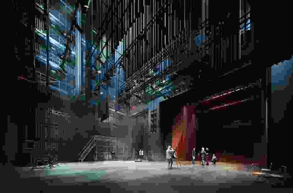 Tak ma wyglądać sala teatralno-operowa w nowej siedzibie AM usytuowanej u zbiegu ul