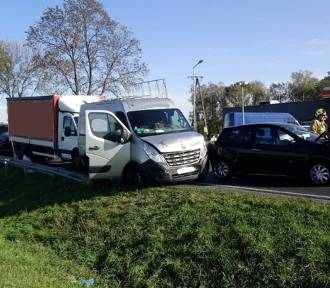 PILNE! Wypadek na trasie Opalenica - Wojnowice [ZDJĘCIA]