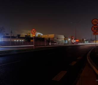 Na ulicach Spokojnej i Elektrycznej zgaszono lampy w ramach... protestu [ZDJĘCIA]