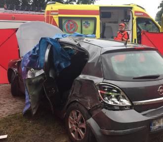 Tragiczny wypadek na trasie Brodnica - Rypin. Nie żyje 52-latka [zdjęcia]