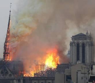 Francja: Pożar w katedrze Notre Dame w Paryżu [ZDJĘCIA i FILM]