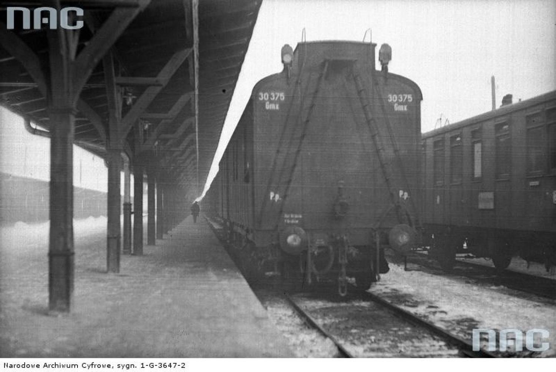 Dworzec Główny w Krakowie, 1931 rok