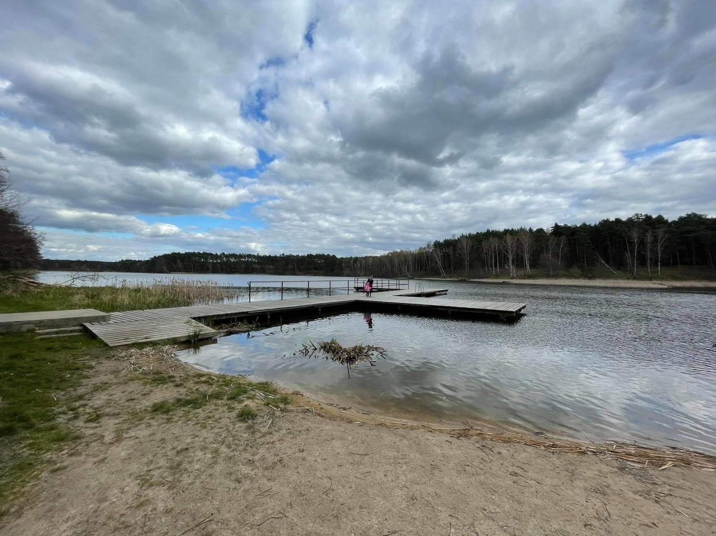 Jezioro Ciborze ma powierzchnię 36,6 ha, wędkarze łowią w nim naprawdę duże okazy