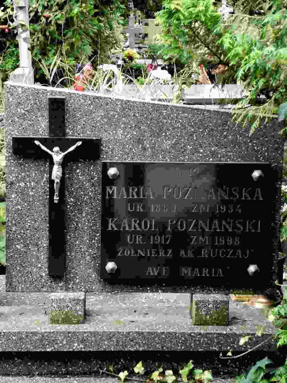 Grób Karola Poznańskiego