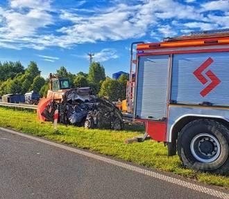 Śmiertelny wypadek na A4. Zginęły dwie osoby