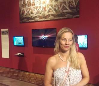 Rozmowa z Cathrin Budai o wystawie fresków Michała Anioła