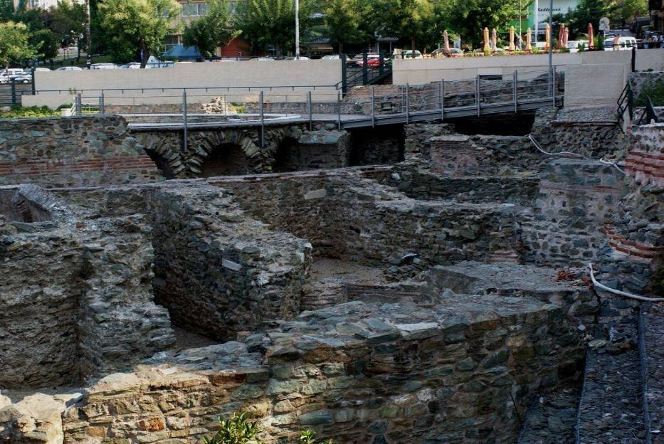 Saloniki-wykopaliska